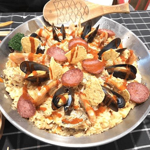 简易版-西班牙海鲜饭