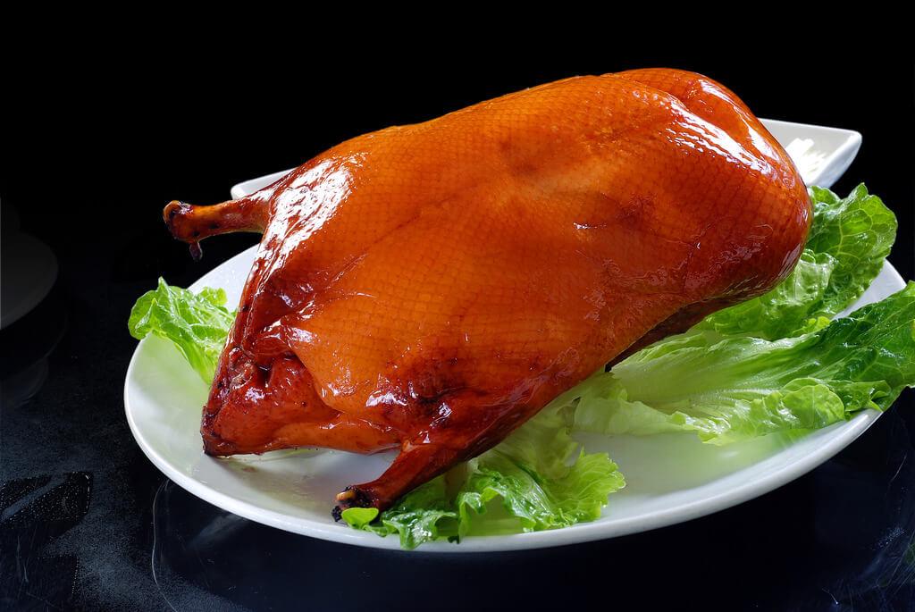 大味坊果碳烤鸭