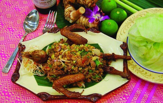 华力泰国菜