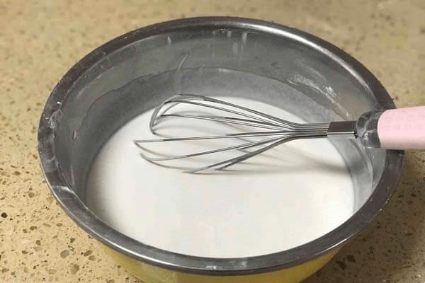 大米发糕怎么做第二步