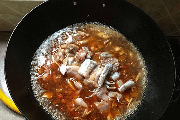 美味酸爽的田鸡汤,竟然这么好做第十步