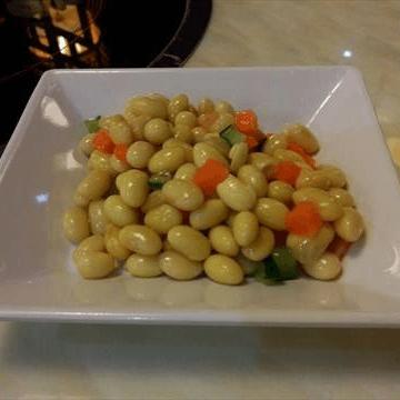 减肥餐凉拌黄豆
