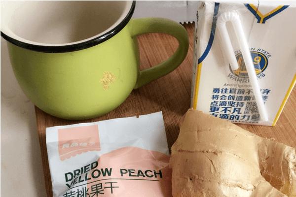 姜汁撞奶,口感超級好哦第一步