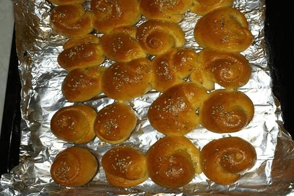 自制酥脆小面包第六步