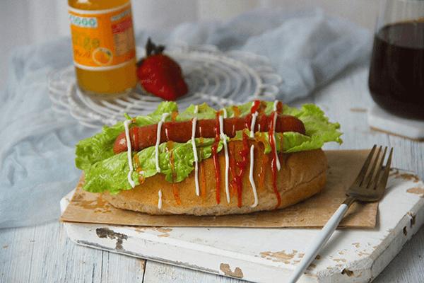 好吃的热狗面包,自己也可以做了第十二步