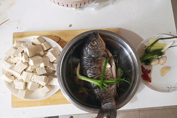 營養不失美味的鯽魚豆腐湯第二步
