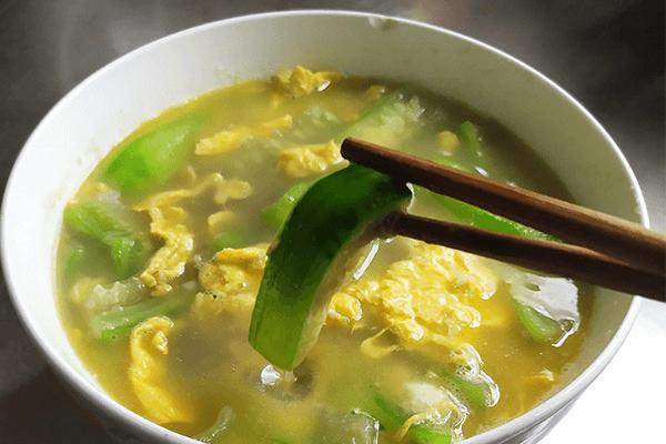 清热下火丝瓜蛋汤,一碗下饭一碗清火第八步