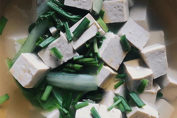 學會白菜豆腐湯,營養美味喝進去第七步