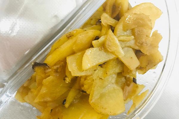 三分种就能上桌的土豆片,开饭速度比点外卖还快!第七步
