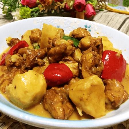 芋兒雞正宗做法,超級下飯,和五珍粉絕配