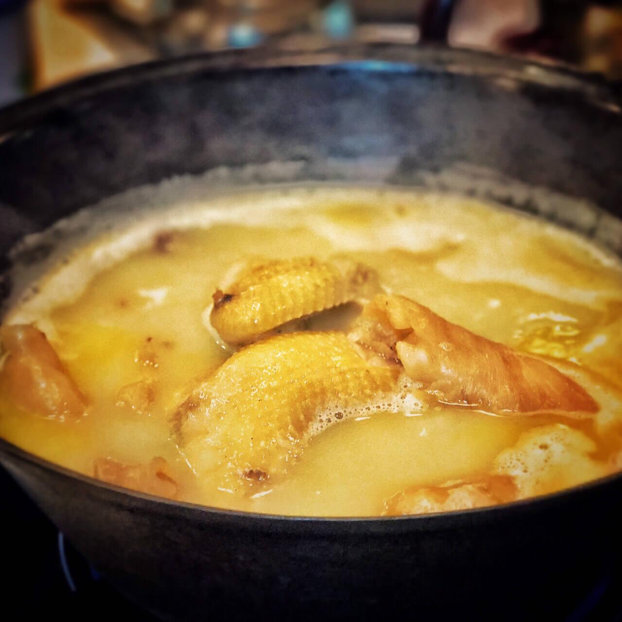 鲜入围煮火锅图2