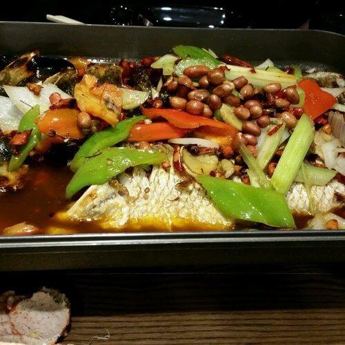 老碗记干锅烤鱼图1