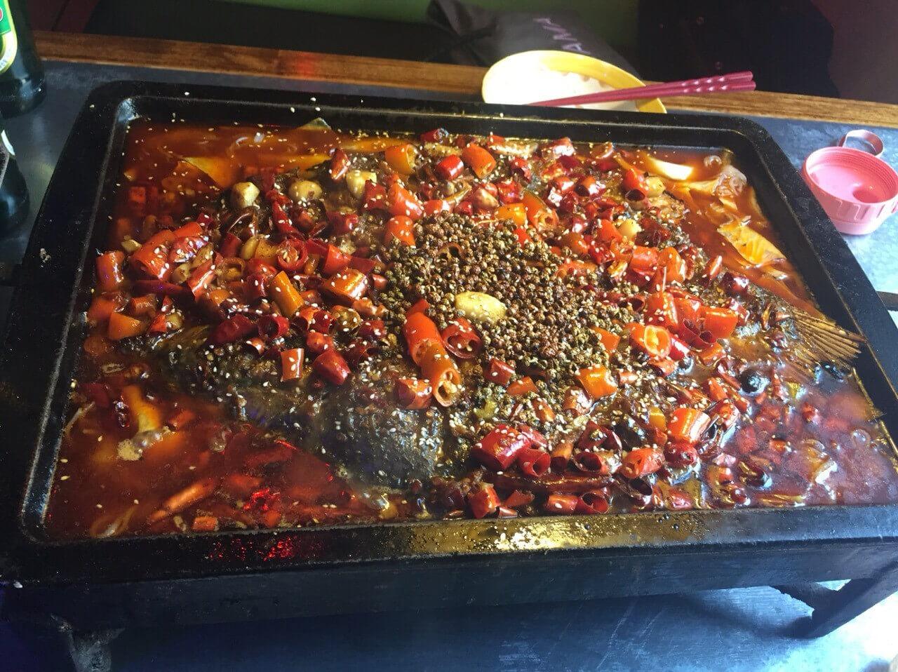 老碗记干锅烤鱼图5