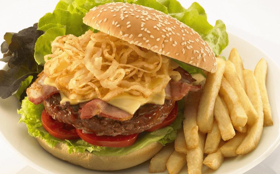 麦可丽西式汉堡
