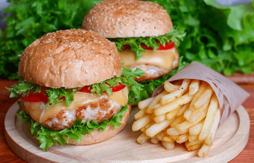 麦可丽西式汉堡图5