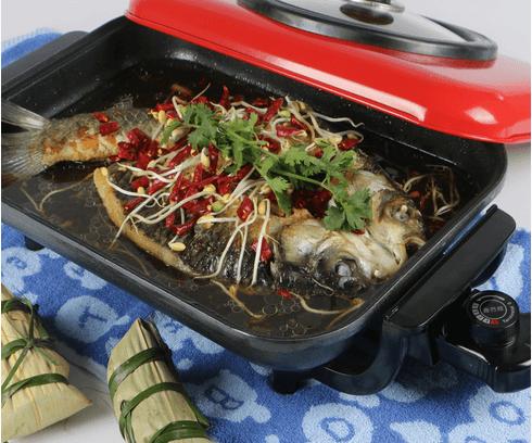 韩式石头烤鱼