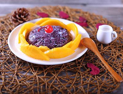 糯米果果甜品图2