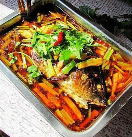 重庆烤鱼图1