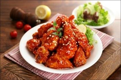 韩国长腿欧巴炸鸡图3