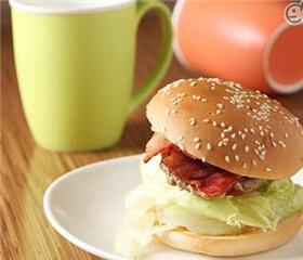 美而美早餐汉堡图1