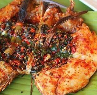 香茅草烤鱼图4