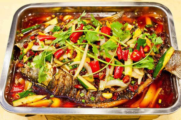 蜀珍楼烤鱼图1