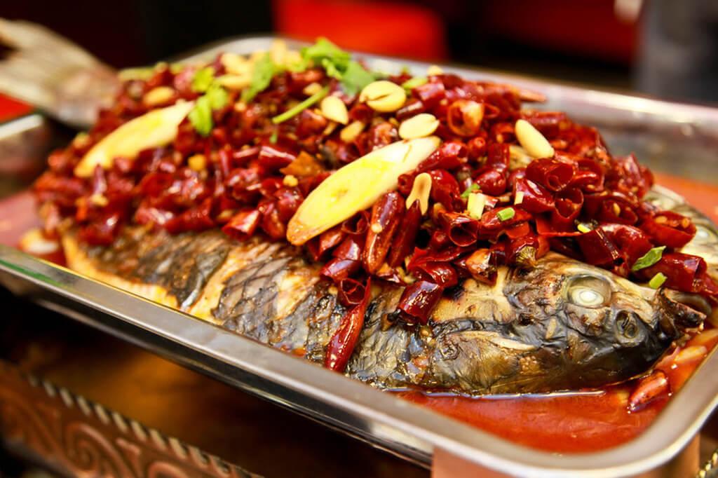 蜀珍楼烤鱼图3