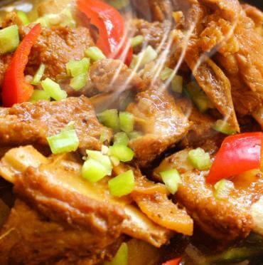 美味居黃燜雞米飯