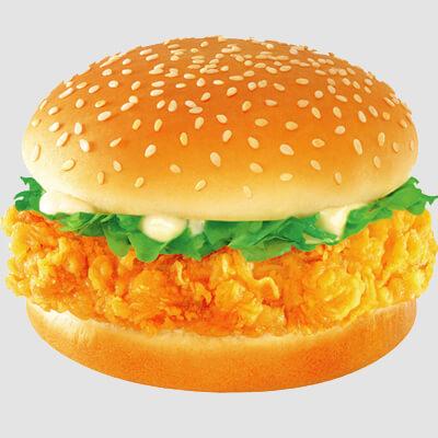 无忧阁炸鸡汉堡图1