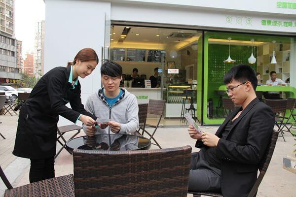 四两绿茶饮饮品品牌介绍图2