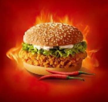喜来客汉堡图1
