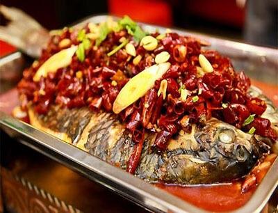 快乐的鱼烤鱼
