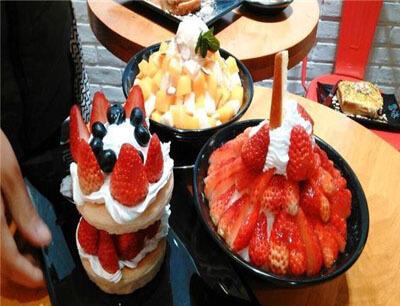 韩国雪冰甜品图2