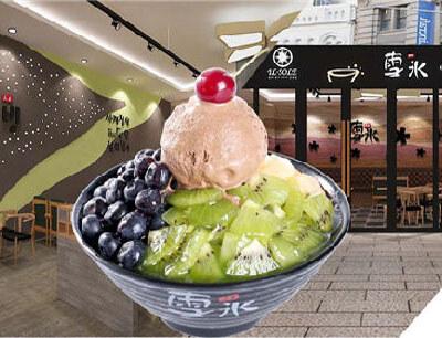 韩国雪冰甜品图3