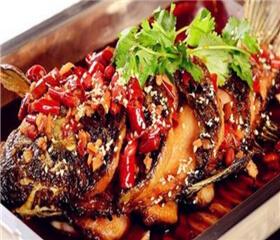 十里桃林烤鱼图2