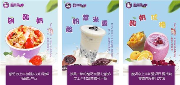 酸奶恋上牛品牌介绍图3
