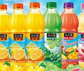 美汁源果粒橙图1