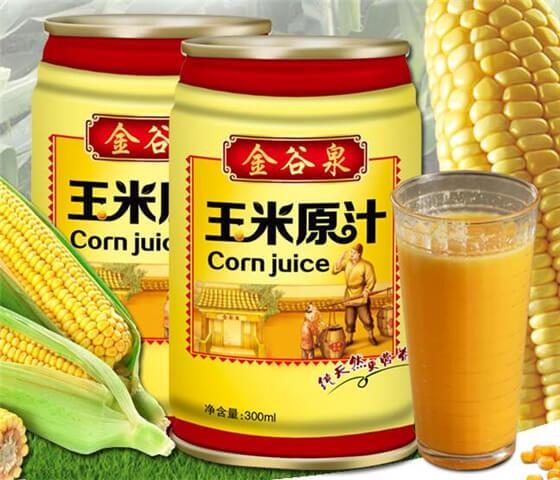 金谷泉玉米汁图1