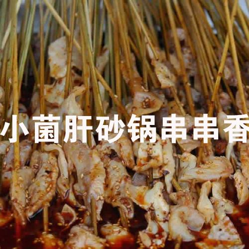 小菌肝砂锅串串香