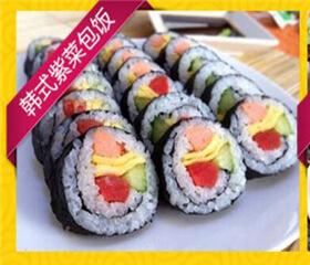 韩紫紫菜饭快餐图4