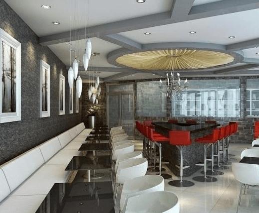 时尚餐厅西餐图3