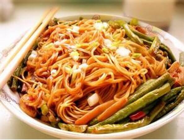 老北京扁豆焖面面食