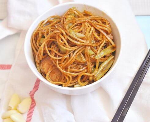 老北京扁豆焖面面食图4