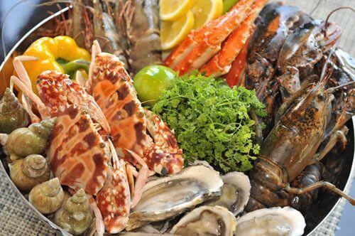 红沙鱼排自助海鲜图2