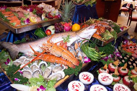 红沙鱼排自助海鲜图4