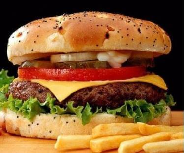 汉堡薯条汉堡图4