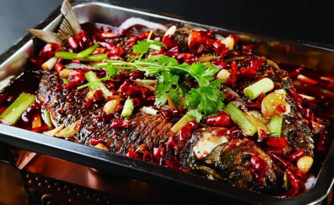 重庆碳烤鱼图2