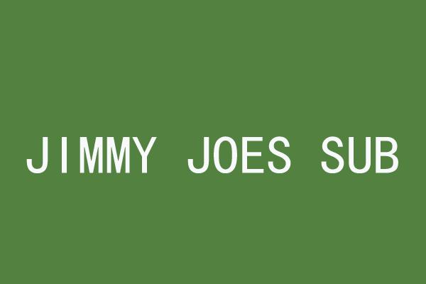 JIMMY JOES SUB杰杰汉堡