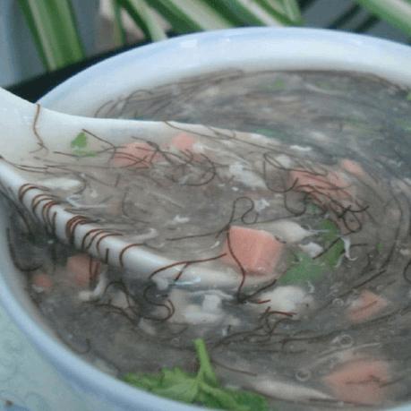 好喝的发菜汤