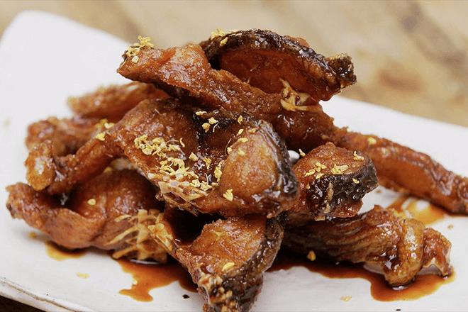 上海熏鱼怎么做好吃又简单,学会这技巧,开店火一家